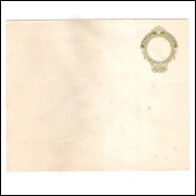 EN-85 - Envelope de 300 Réis, Cabeça da Liberdade, novo.