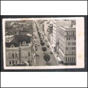 CX04 Foto Postal, Caxias do Sul, vista, rua, carros.