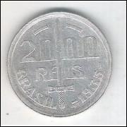 1935 - 2000 Réis, prata, mbc/s. Caxias.