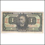 R193a - 1 Mil Réis, ano: 1923, Banco do Brasil, 1a estampa. Campos Salles.