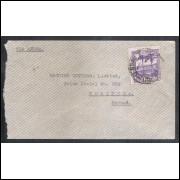 1940 - Envelope circulado, com 1.200 Réis (RHM C-134 - Vista dos Arcos - Rio de Janeiro)