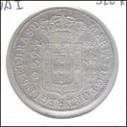 1787 - 320 Réis (Pataca), Brasil-Colônia, D. Maria I, prata, bc.