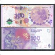 Argentina (P.358b) - 100 Pesos, 2015, fc. Evita