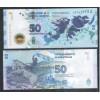 Argentina (nova) - 50 Pesos, 2015, fc. Ilhas Malvinas (Falkland)