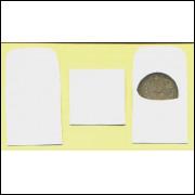 Envelopes de papel para moedas (100 unidades).