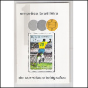 B-028 - 1970 Milésimo Gol do Pelé.
