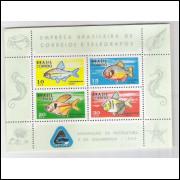 B-026 - 1969 Divulgação da Piscicultura e Aquariofilia. Peixes.