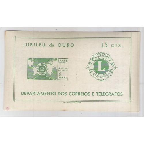 B-021 - 1967 Jubileu de Ouro do Lions Club Internacional.
