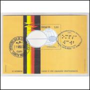 B-037 - 1974 5o Assembléia Geral do Conselho Mundial para o Bem Estar do Cego. Car.Comem. e 1o dia.