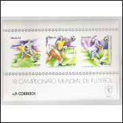 B-050 - 1982 - XII Campeonato Mundial de Futebol - Espanha. Copa do Mundo.