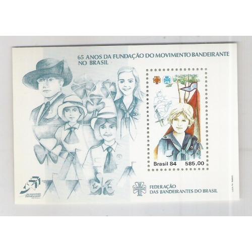 B-068 - 1984 - 65 Anos da Fundação do Movimento Bandeirante no Brasil.