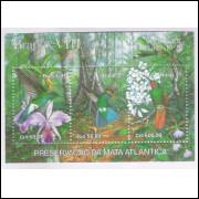 B-088 - 1991 - Brapex VIII - Exposição Filatélica. Preservação da Mata Atlântica. Fauna e Flora.