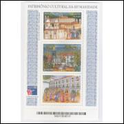 B-111 - 1999 - Patrimônio Cultural da Humanidade - Ouro Preto-MG; Olinda-PE e São Luis-MA