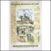 B-130 - 2003 - Fazendas Históricas de Café: Ponte Alta-RJ e Paulo d-Alho-Rj. Agricultura.