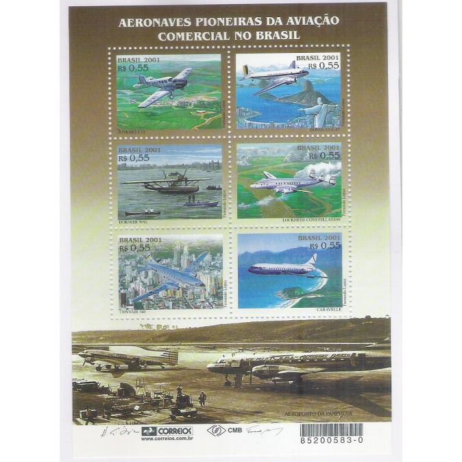 B-122 - 2001 - Aeronaves Pioneiras na Aviação Comercial no Brasil.