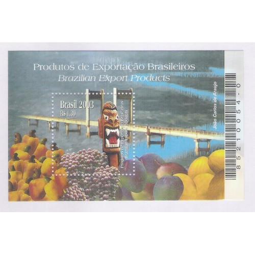 B-134 - 2003 - Produtos de Exportação Brasileiros. Frutas. Agricultura.
