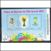 B-179 - 2014 - Copa do Mundo da Fifa Brasil 2014. Futebol.