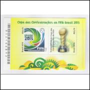 B-173 - 2013 - Copa das Confederações da Fifa Brasil 2013. Futebol.