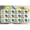 C-2854 - 2009 Selos Personalizados - Folha - Bandeira e Ipê. Mapa, flora - 1o Porte - comercial.