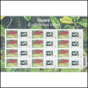 C-2564 - 2004 Selo Personalizado - Folha - Guará. Ave, fauna.