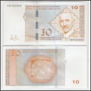 Bósnia e Herzegovina - (nova) 10 Conversíveis Maraka, 2012, fe. Personagem, Mehmedalua Mark Dizdar.
