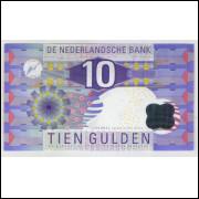Holanda - (P.99) 10 Gulden, 1997, fe.