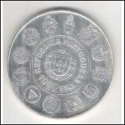 Portugal, 1000 Escudos, 1997, prata, fc. Dança dos Pauliteiros.