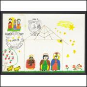 max048A - 1976 Natal - Reis Magos. Religião.Carimbo Comemorativo e 1o Dia -  Brasília-DF.