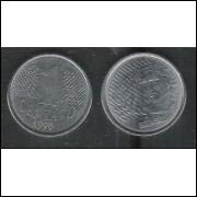 1996 - 1 Centavo, soberba (s), aço.