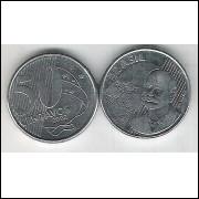 2002 - 50 Centavos, soberba (s), aço. Barão do Rio Branco.