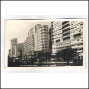SP02 - Cartão postal antigo, Avenida Ipiranga - 69 São Paulo, Foto Postal Colombo.