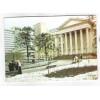 Cartão postal, Curitiba, Praça Santos Andrade, Universidade. Dia da grande neve, 17 de julho de 1975