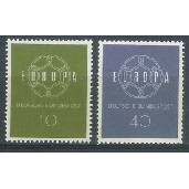 Alemanha, 1959, Tema Europa. Sem carimbo, com goma, mint. Yv. 193-194.