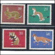 Alemanha, 1967, Pro-Juventude, fauna. Sem carimbo, com goma, mint. Yv. 387-390.