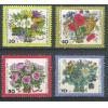 Alemanha-Berlin, 1974, Flores. Sem carimbo, com goma, mint. Yv. 437-440.