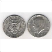 Estados Unidos, Half Dollar, 1971-D, Kennedy, soberba.
