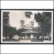 TT1 - Foto Postal Colombo, Tatuí, Igreja Matriz, Praça Coronel Fernandes Prestes. Religião.
