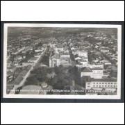 PG06 - 1 - Foto Postal Colombo Ponta Grossa Praça Marechal Floriano e Catedral