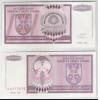 Bósnia-Herzegovina (Knin) - 50000000 Dinara (50 milhões), 1993, s-fe.