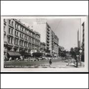 Cartão postal, 3 - Curitiba - Cinelandia. Braz Hotel. Foto Postal Colombo. Excelente conservação.