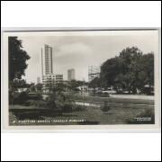 Cartão postal antigo, 4 - Curitiba - Passeio Público. Foto Postal Colombo. Excelente conservação.