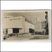 Cartão postal antigo, 9 - Curitiba - Biblioteca Pública. Foto Postal Colombo. Excelente conservação.