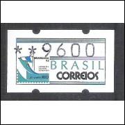 SE-005 - 1993 - Semi-autômato, Brasiliana, Cristo, valor 9600, novo.