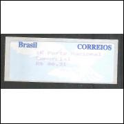 SE-008 - 1997 -Pomba Branca valor R$ 00,31