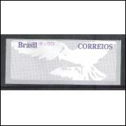SE-044 - 2004 - Pomba Branca, fundo cinza, valor R$ 0,55 , novo.
