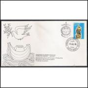 FDC-071 - 1975 - Tricentenário da Província Franciscana da Imaculada Conceição - Ano Santo.