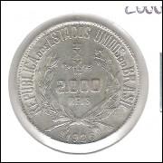 1926 - 2000 Réis, prata, FC.