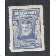 C0161- 1940 - 400 Réis, Padre Vieira. Filigrana Correinho. Novo, com goma