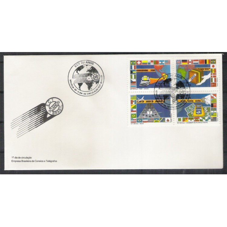 FDC-464- 1989 - ECT - 20 Anos.