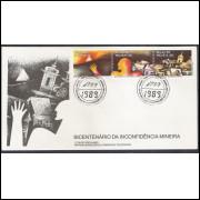 FDC-467- 1989 - Bicentenário da Inconfidência Mineira.